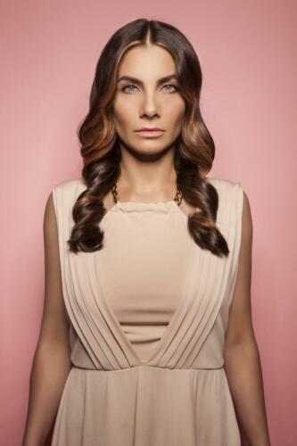 Eva Decastelo, B(L)OND girls 2015, Hair studio Honza Koż°nek (1)