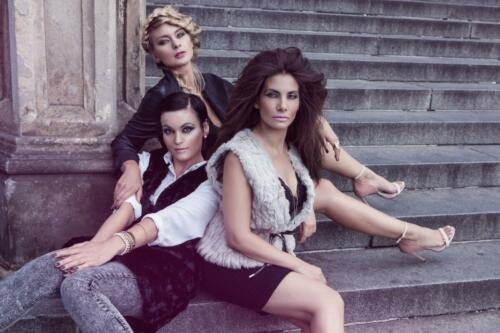 Eva Decastelo, Barobra Mottlov†, Daniela Rāvai, Street of LOVE, Hair studio Honza Koż°nek (3) (1)