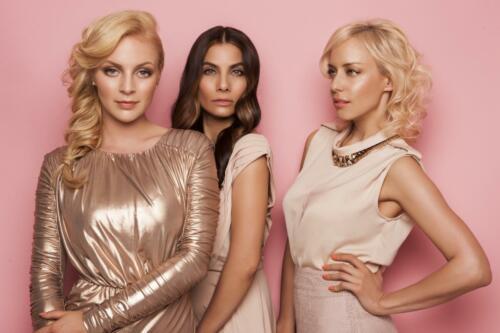 Markāta Konviükov†, Eva Decastelo, Katżina M†tlov†, B(L)OND girls 2015, Hair studio Honza Koż°nek (2) (1)